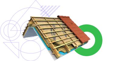Tetőfóliák és tető elemek