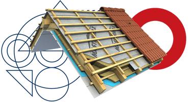 Roofing foils and roofing elements